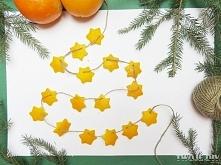 Pomarańczowy łańcuch - zobacz jak zrobić na twojediy.pl