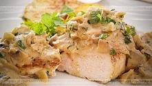 Filety z kurczaka w sosie p...