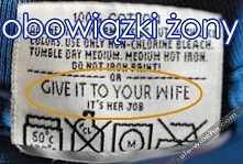 obowiązki żony