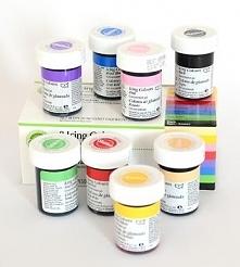 Zestaw barwników spożywczych (8 szt. x 28 g) - 03-610 - Wilton - poleca Pani Dorota z mojewypieki.com!