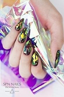 wiecie jak zrobić takie paznokcie ? wygląda to super!
