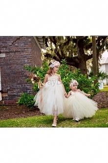 Ivory tutu dress Flower Girl Dress baby dress toddler birthday dress wedding dress