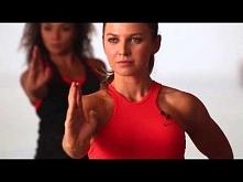 Anna Lewandowska Karate Cardio Military