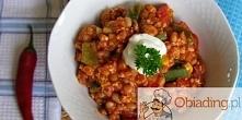 chili z mięsem i fasolą