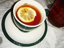 No to świąteczna herbata z rumem cytryną i miodem :)