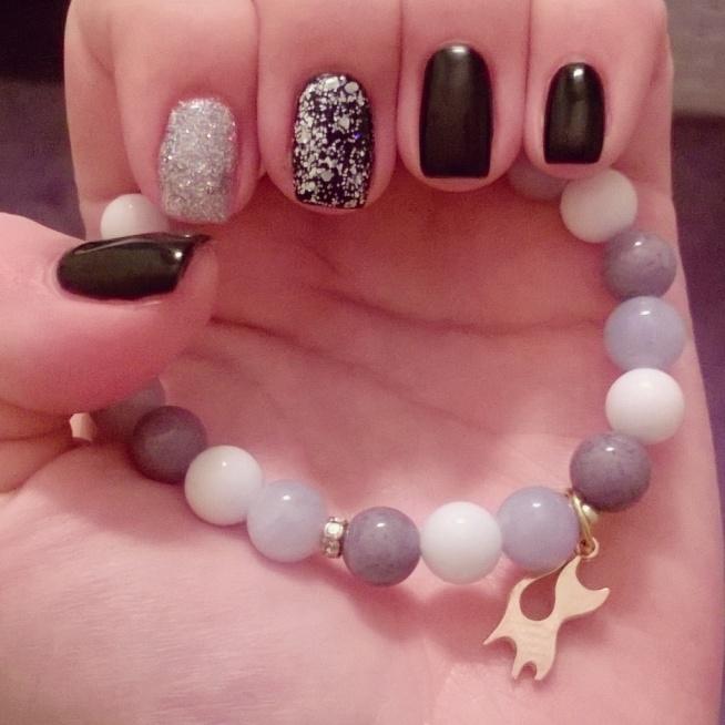 prezent + świąteczny manicure :)