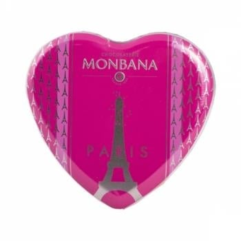 Czekoladowe serce Paris (100 g) - Monbana