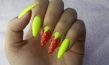 Jak wykonać truskawkowy manicure