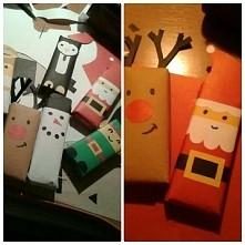 Takie moje zabawy w opakowania świąteczne ♡