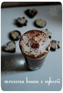 mrożona kawa zimą? wejdź po przepis na aromatyczną, korzenną zimową kawę z cykorii! KLIKNIJ W ZDJĘCIE :)