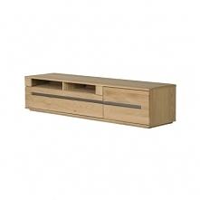 Dębowa szafka pod telewizor - kolekcja Oran. Więcej po kliknięciu w zdjęcie.
