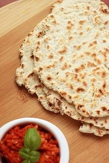 Chleb naan na jogurcie greckim - bez jajek  Po przepis zapraszam na bloga, link po kliknięciu na zdjęcie :)