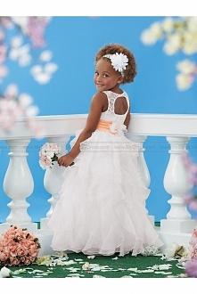 Sweet Beginnings by Jordan Flower Girl Dress Style L446  USD$139.00 (58% Off)...