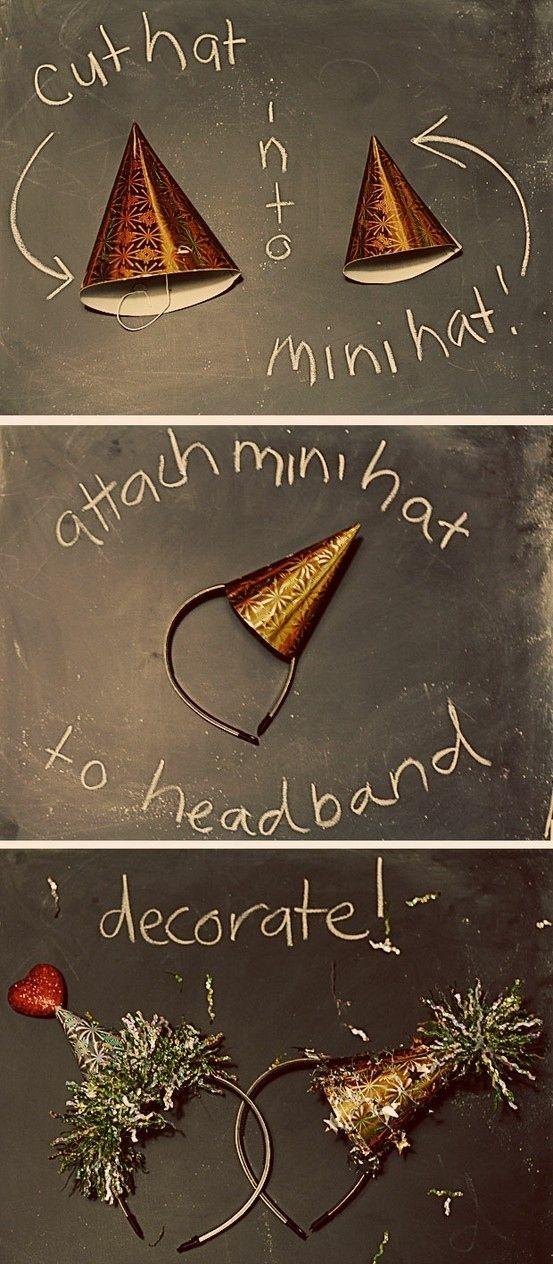 Pomysłowe sylwestrowe nakrycie głowy ;)