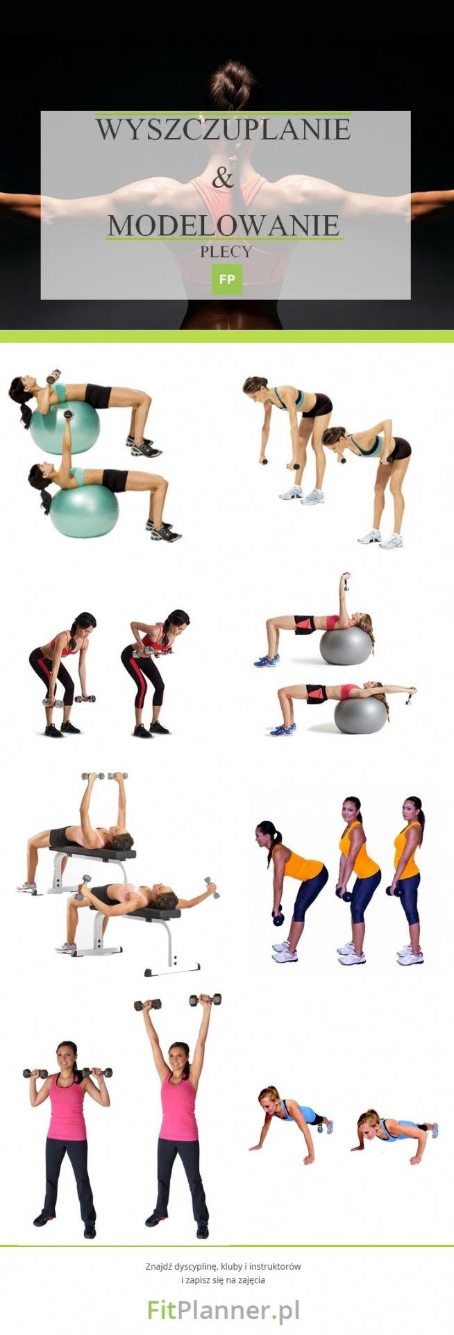 Ćwiczenia na sexy ❤️ plecy :)  ZESTAW ĆWICZEŃ WYSZCZUPLAJĄCYCH I MODELUJĄCYCH PLECY  Wykonaj każde ćwiczenie w 3 seriach po 60 sekund.   Jeśli chcesz poznać inne ćwiczenia, kliknij w obrazek i wyszukaj interesujące Cię ćwiczenia ;)  FitPlanner - wyszukiwarka zajęć sportowych, klubów fitness i instruktorów.