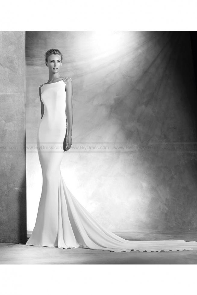 2016 Atelier Pronovias Style Vanila Mermaid wedding dress  USD$459.00 (63% Off)  2016 wedding dress,cheap wedding dresses online,plus size wedding dresses,wedding dress for sale,wedding dress prices
