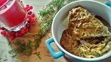 Zapiekane naleśniki z kapustą, grzybami i suszonymi pomidorami :)