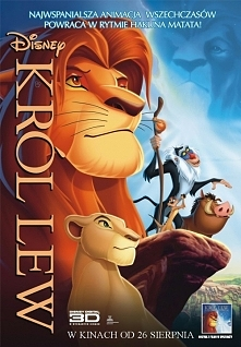 Król Lew jedna z moich ulubionych bajek dzieciństwa :)