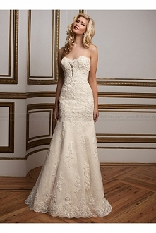 Justin Alexander Wedding Dress Style 8811 sweetheart lace fit and flare gown USD$439.00 (55% Off) 2016 wedding dress,cheap wedding dresses online,plus size wedding dresses,weddi...