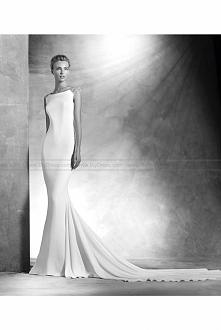 2016 Atelier Pronovias Style Vanila Mermaid wedding dress  USD$459.00 (63% Of...