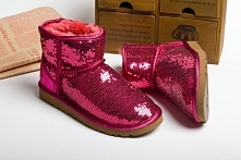 Ugg Paris Boutique 5854 Classic Mini Boots Rouge Rose