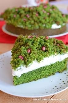 Leśny mech (Ciasto ze szpin...