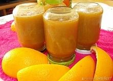 Dżem rabarbarowo - pomarańczowy