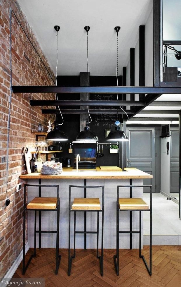 Kuchnia W Stylu Loft Na Wnętrza Zszywkapl