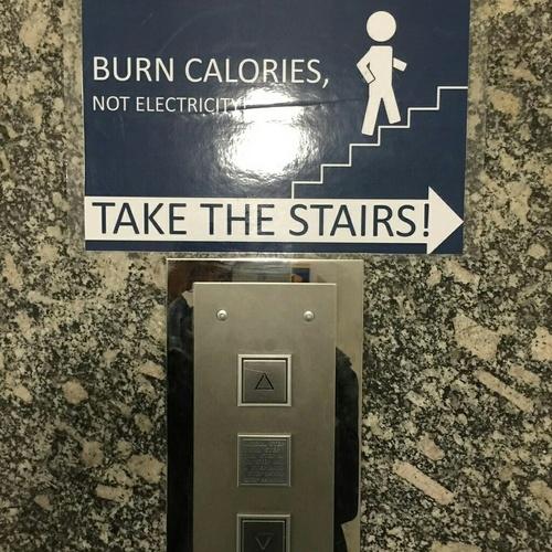 Burn More Calories Not Runnning: Burn Calories Not Electricity :D Na Funny :D