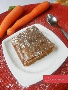 Coś z lżejszych wypieków czyli - Ciasto marchewkowe :) Pyszne, zdrowe i aroma...