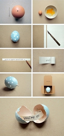 :D wiadomość w jajku