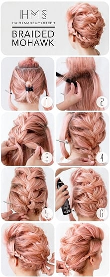 Braided mohawk