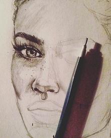 Wieczorne rysowanie zapraszam do siebie na bloga ,fb i instagram