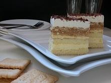 Ciasto balowe z kajmakiem/masą krówkową. Ekstremalnie słodkie, kremowe i rozpływające się w ustach. Zdecydowanie nadaje się na różnego rodzaju imprezy, święta i bale.To połączen...