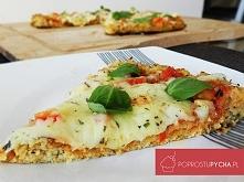 Fit pizza z kalafiora! :) dla osób na diecie :) Zapraszam na bloga ;]