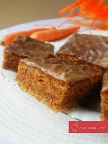 Pyszne i zdrowe ciasto marchewkowe z lukrem cynamonowym :) Przepis krok po kroku po kliknięciu w zdj