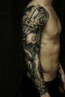 tatuaż na ręce