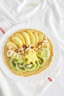 Zdrowe śniadanie! Przepis na placek owsiany po kliknięciu w zdjęcie ;)