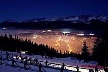 Widoki Nocą Gubałowka uwielbiam nasze Góry !