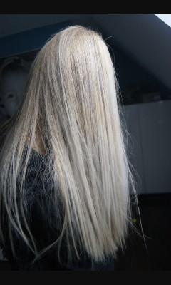marzenie ❤ szkoda że rozjaśnianie tak niszczy włosy :(