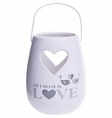 Lampion ceramiczny LOVE 16 ...