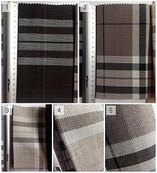 nowe tkaniny w kratę