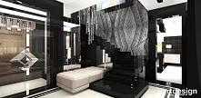 hol i schody w luksusowym d...