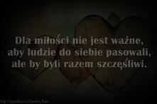 Dla miłości...