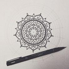 Jak narysować Mandalę.