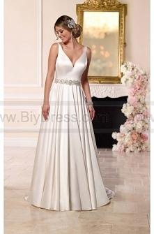 Stella York Satin A-line Wedding Dress Style 6222  $369.00(52% off)  2016 wedding dress,cheap wedding dresses online,plus size wedding dresses,wedding dress for sale,wedding dre...