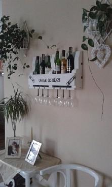 półeczka na wino