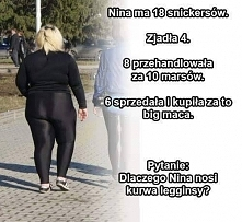 Nina i legginsy