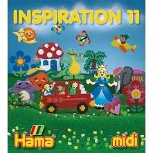 Kolejna książeczka z inspiracjami z koralików Hama:  Hama midi - INSPIRACJE 1...