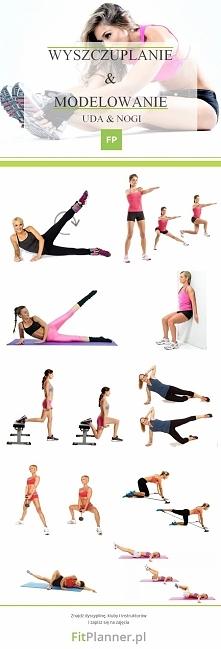 Ćwiczenia na szupłe uda i nogi ❤️  Wykonaj każde ćwiczenie w 3 seriach po 60 sekund.  A może szukasz klubu fitness dla siebie? Wyszukaj go na FitPlanner i poznaj opinie o klubac...